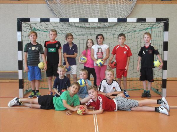 "3./4. Schuljahr "" Handball"""