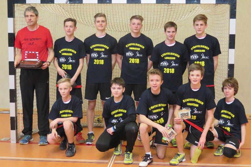 Staffelsieger Landesliga C-Jugend männlich