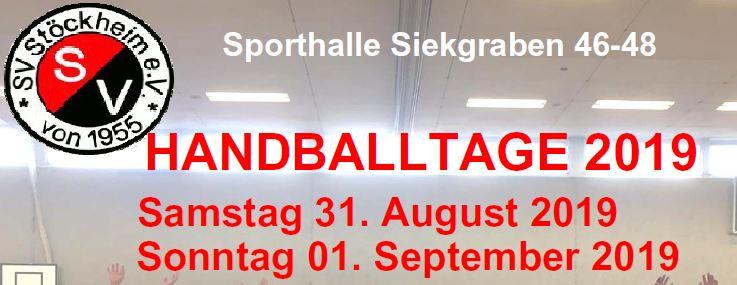 Handballtage 2019