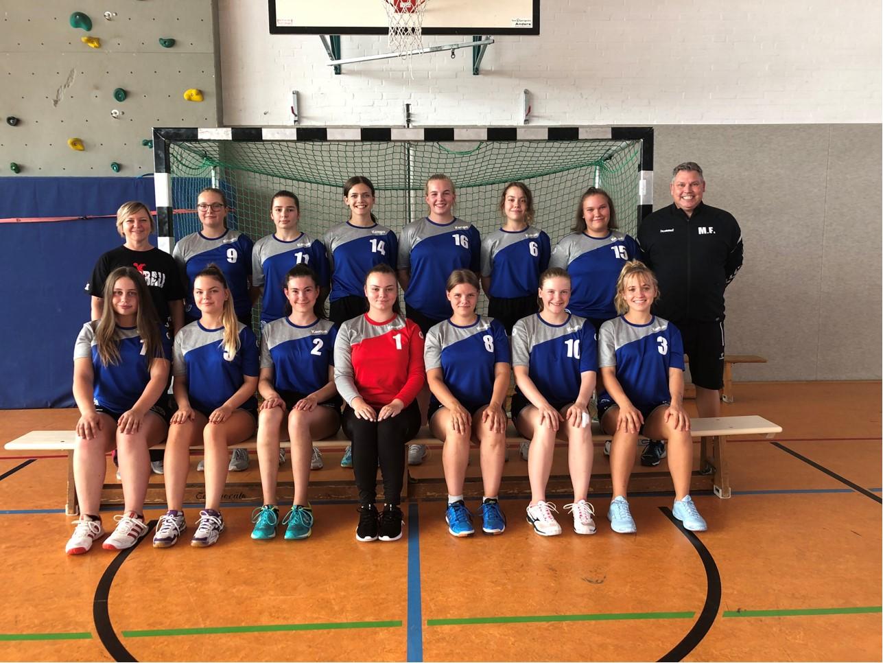 weiblichen B-Jugend gegen HSG Liebenburg-Salzgitter am 07.03.2020