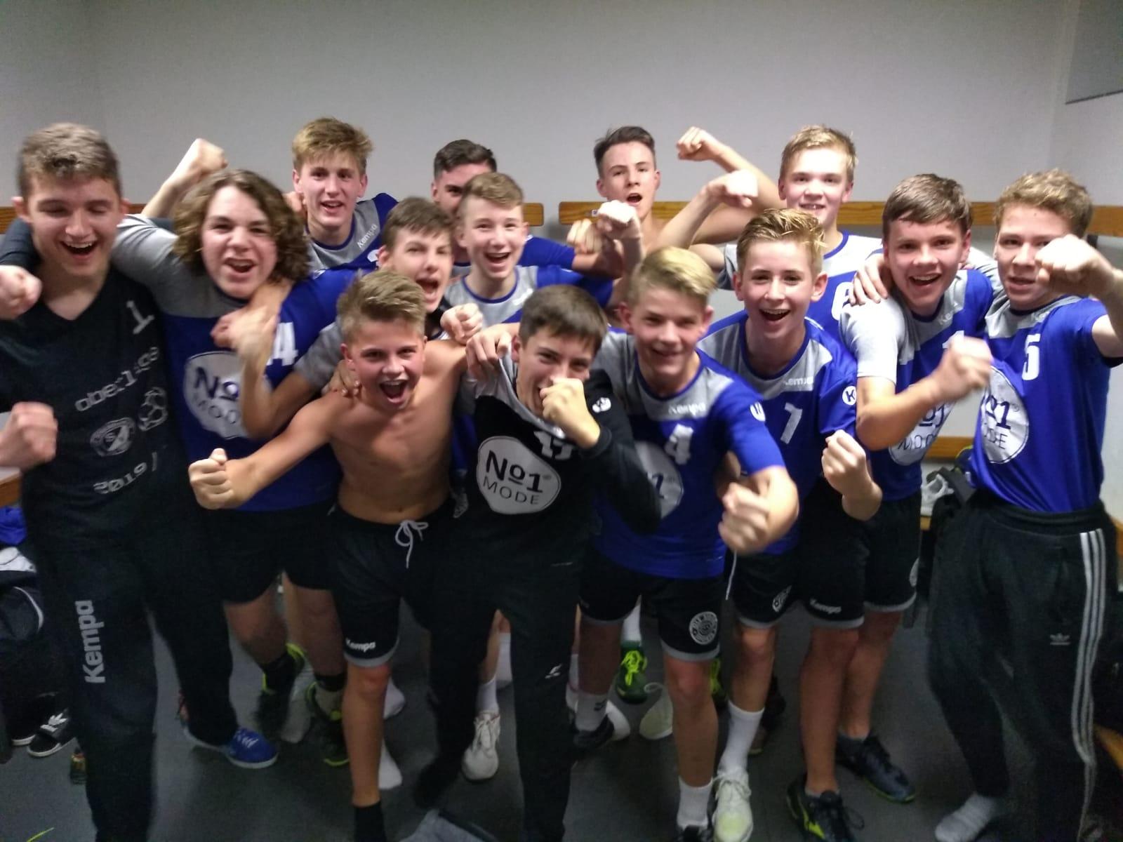 Stöckheimer C-Jugendhandballer gewinnen das Derby gegen den MTV Braunschweig