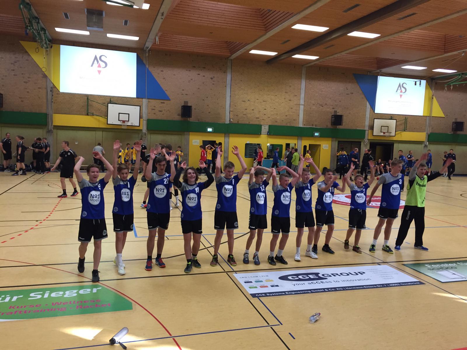 Männliche C1 gewinnt knapp ihr Auswärtsspiel gegen TV Bissendorf-Holte