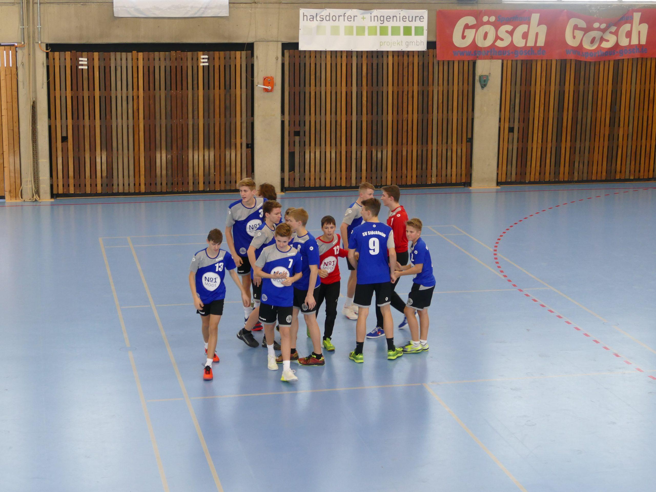 Am Sonntag traten die Stöckheimer C-Jugendhandballer als Tabellenführer beim Zweitplatzierten aus Burgdorf an