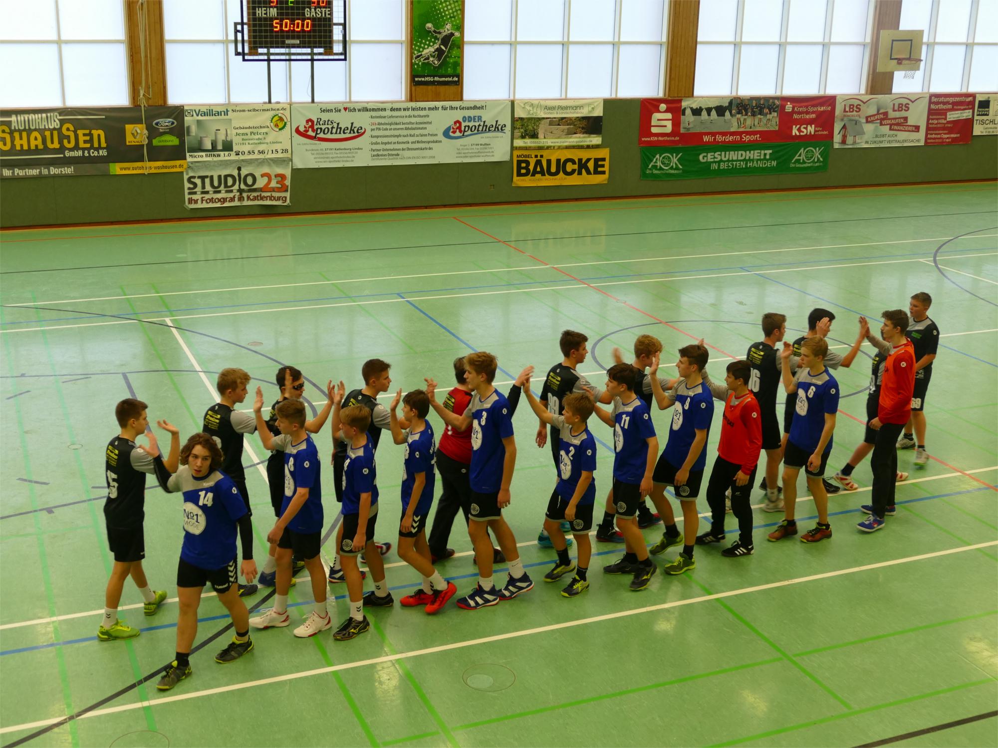 Stöckheimer C-Jugendhandballer wieder in der Erfolgsspur