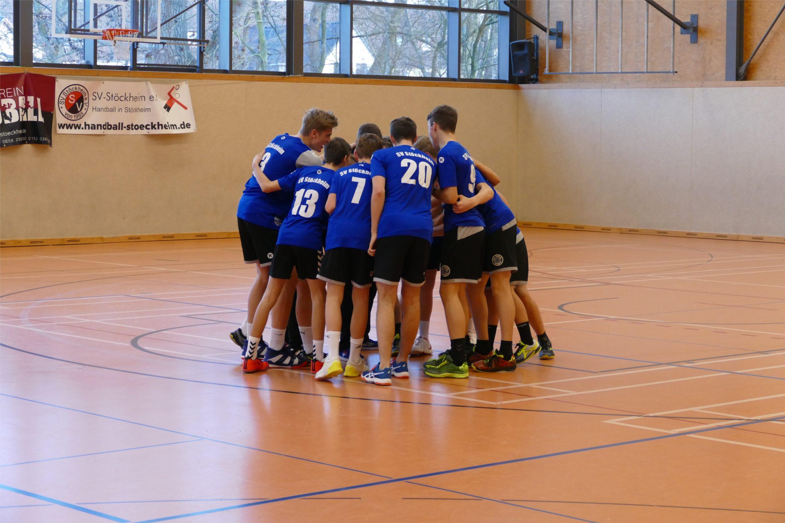 Männliche C1-Jugend siegt gegen den TSV Anderten