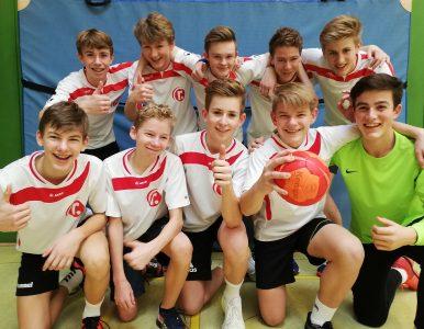 Erfolgreiche Handballer Gymnasium Raabeschule