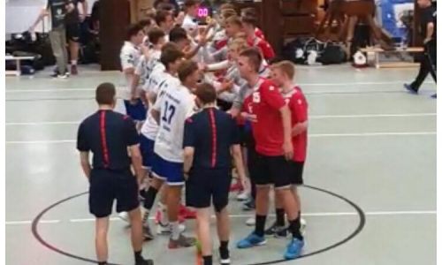Oberliga Auftakt gegen JSG GIW Meerhandball